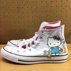 Converse Shoes - Converse Hello Kitty Chuck Taylor Hi Womens sz 6.5
